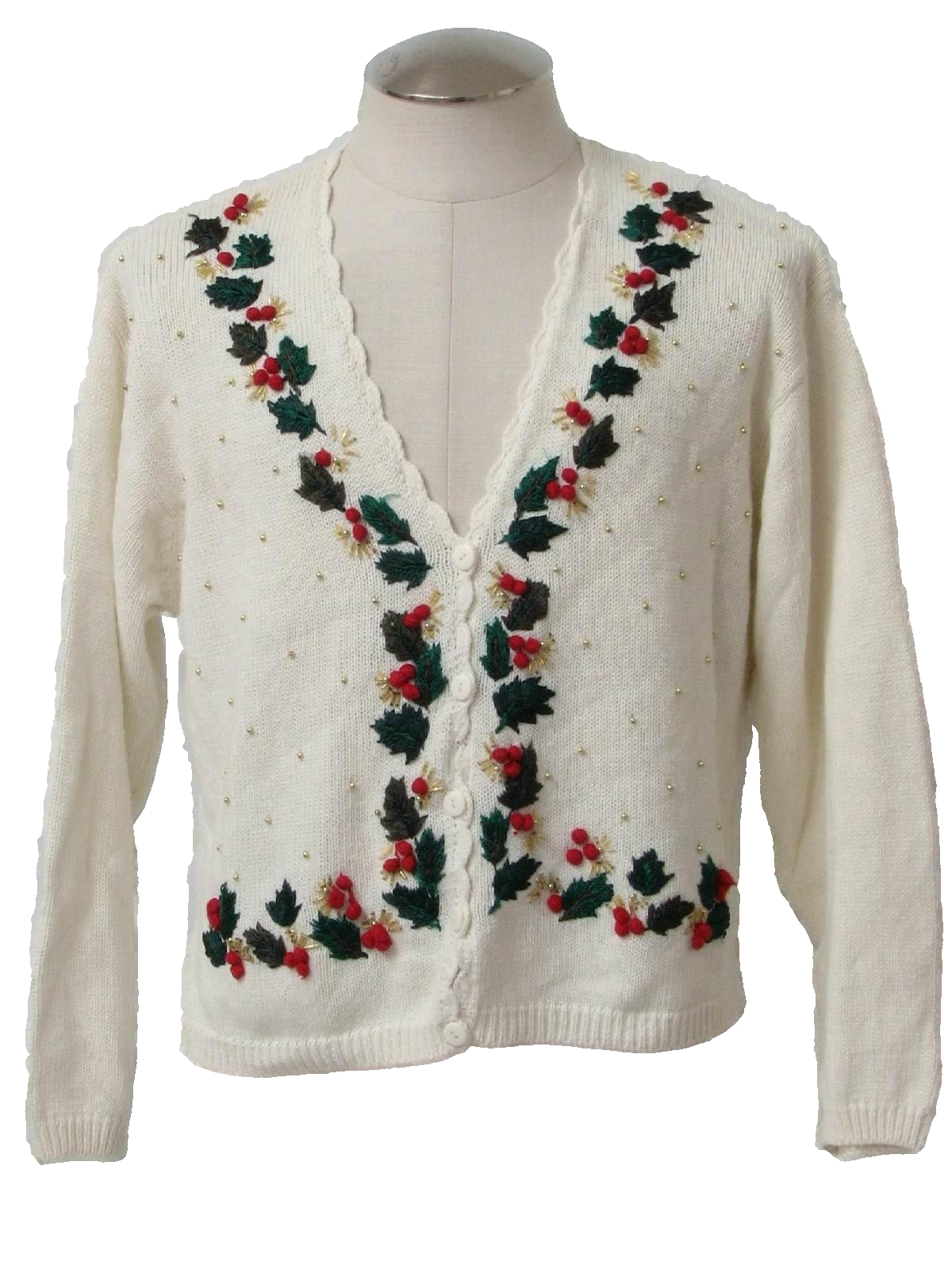 Womens Ugly Christmas Cardigan Sweater: -Dress barn- Womens off ...