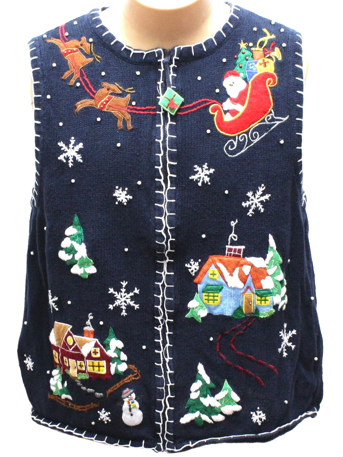 Ugly Christmas Sweaters At Old Navy - English Sweater Vest