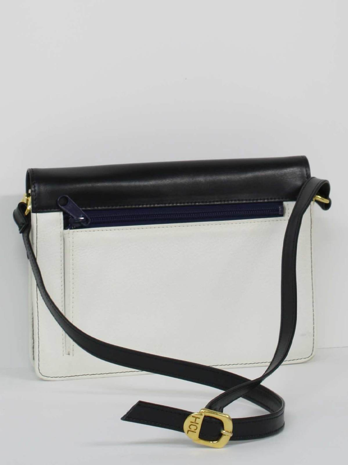 Hcl handcrafted leather goods - Eighties Purse 80s Hcl Handcrafted Leather Goods Germany Womens Black Smooth And White Pebbled Genuine Leather Handbag With Brass Clasp And Findings