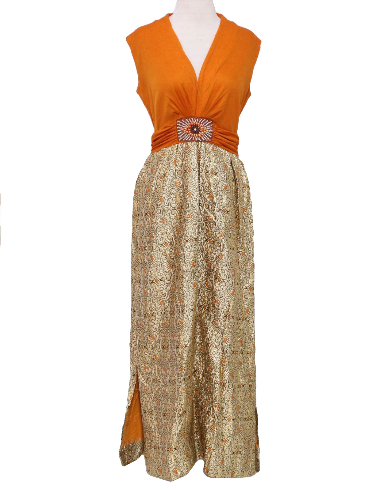 Seventies Vintage Cocktail Dress: 70s -Missing