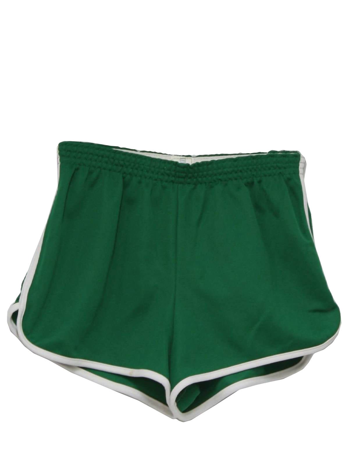 1980 S Retro Shorts 80s Broderick Mens Green Background