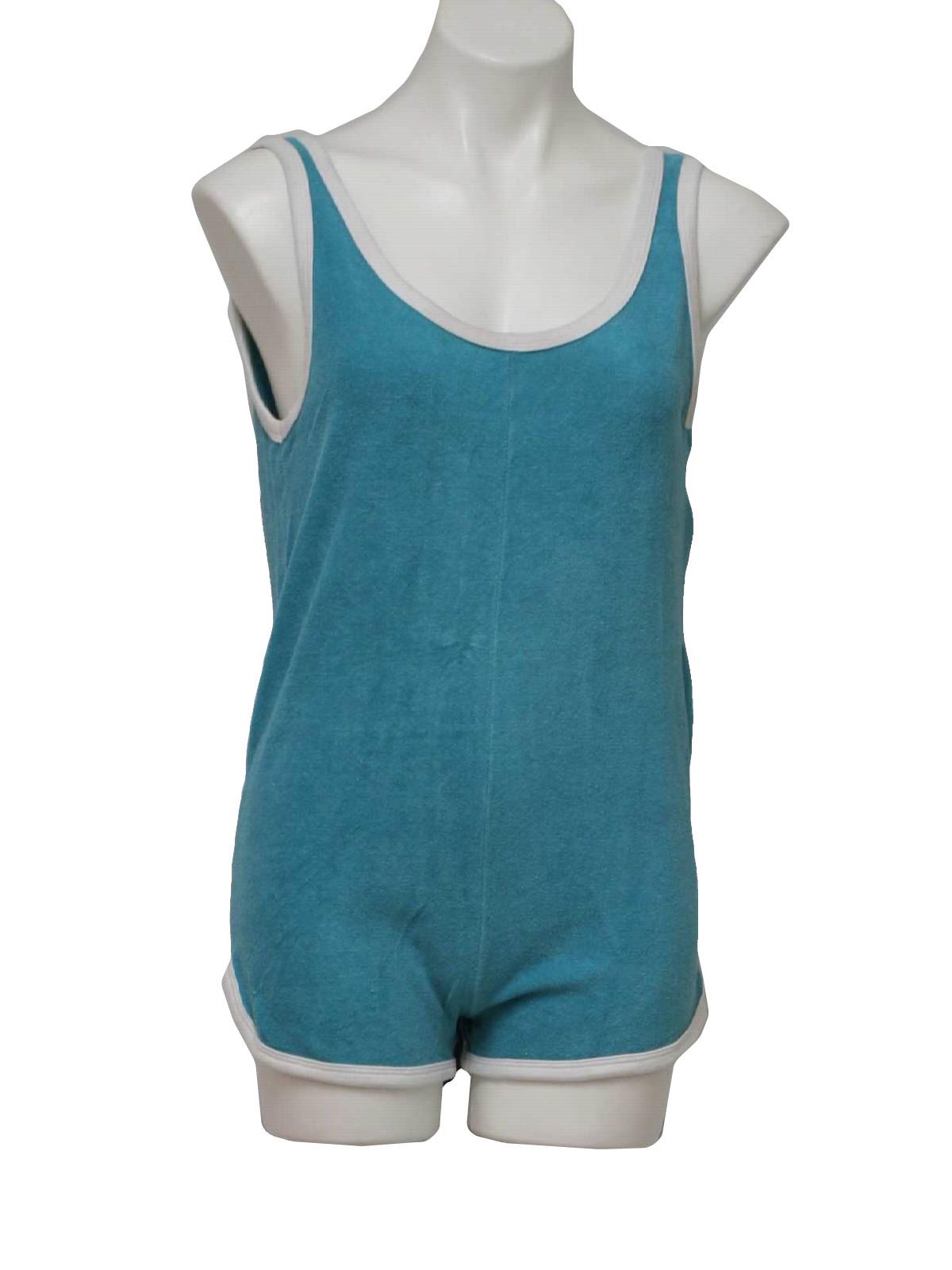 Calida True Classics Terry Cloth Romper - Zip Front, Short Sleeve (For Women