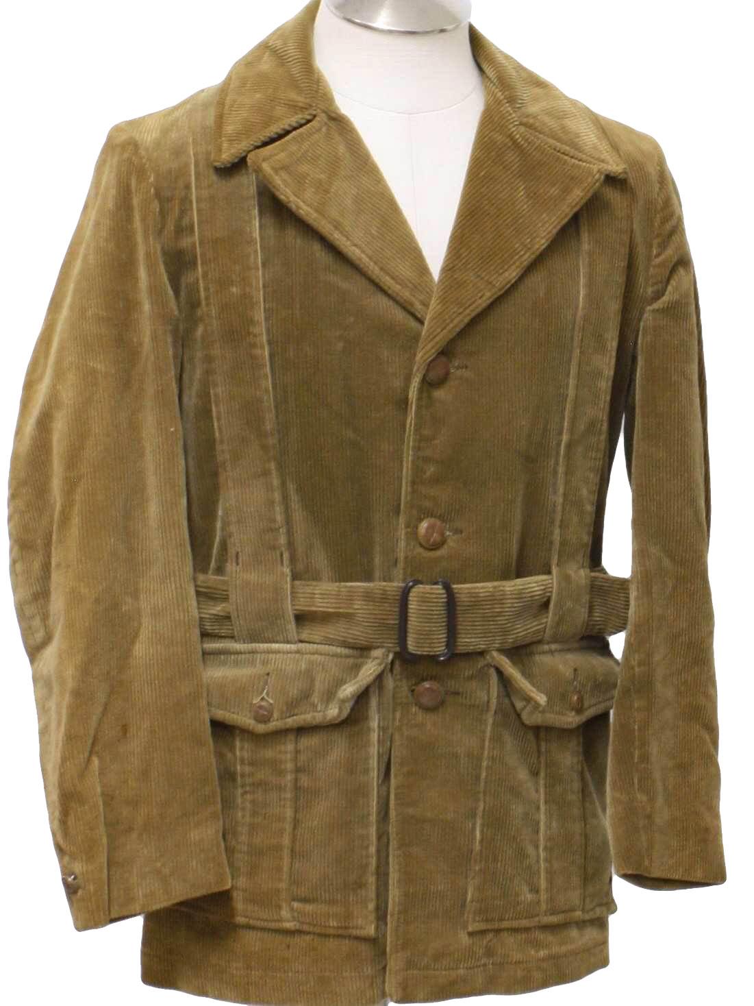 Sixties Vintage Jacket Late 60s Montgomery Ward Mens