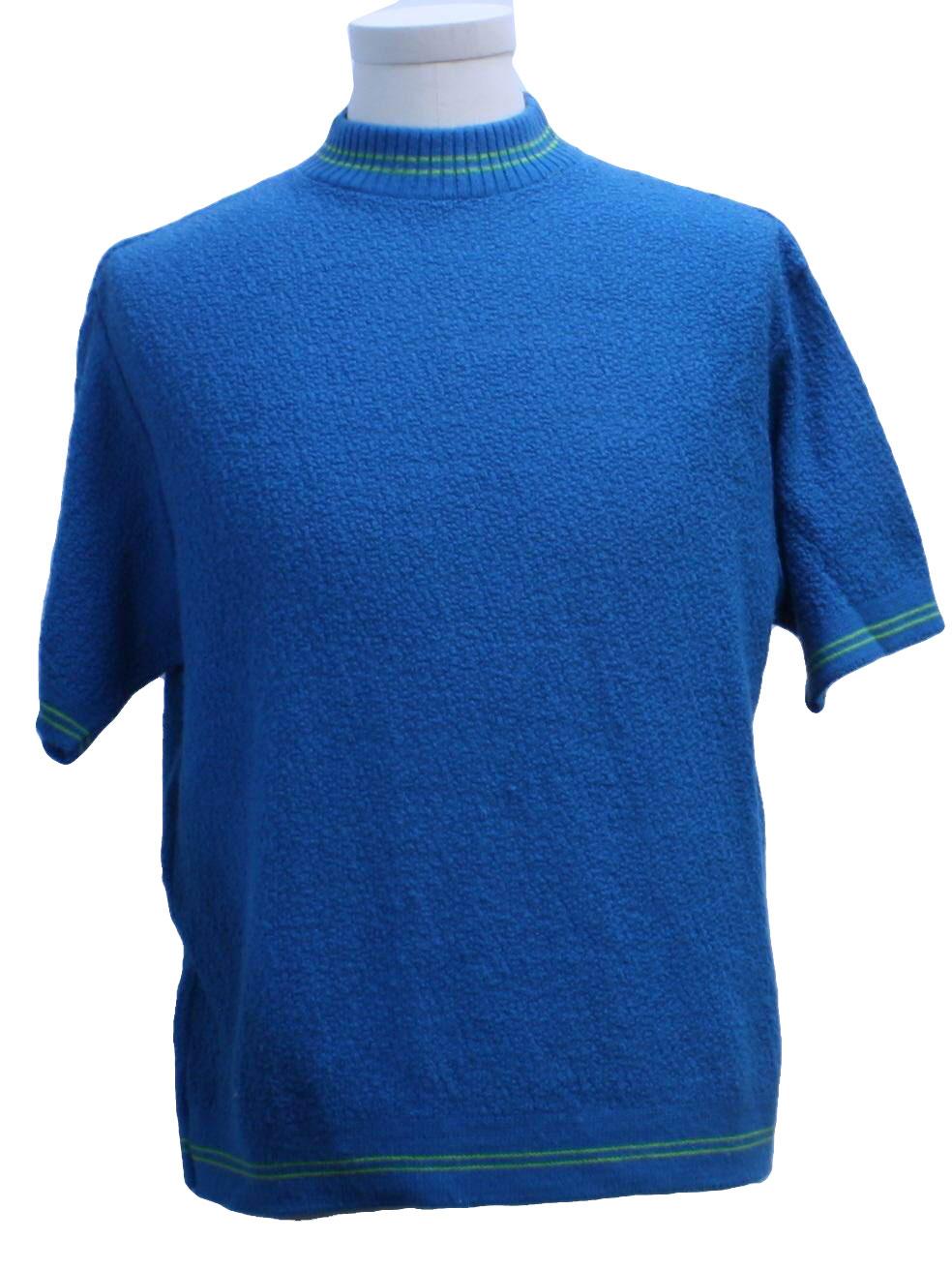 Jockey sportswear sixties vintage knit shirt 60s jockey for Jockey full sleeve t shirts india
