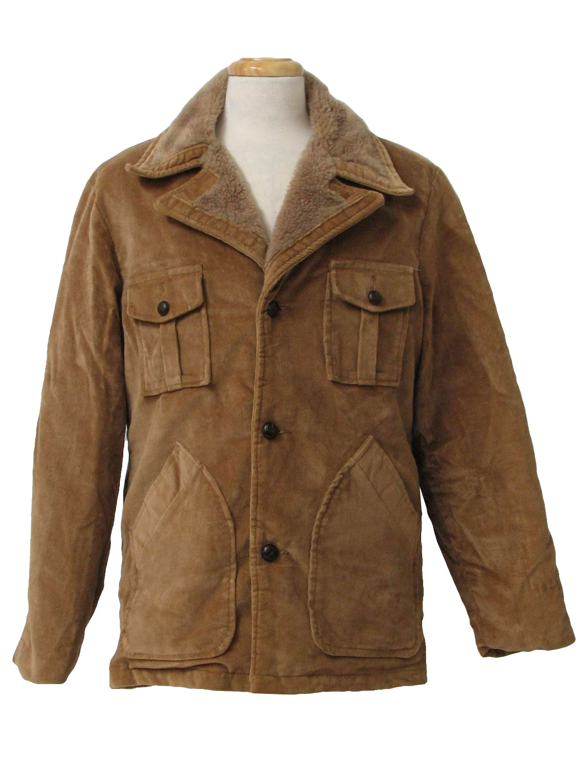 Car Craft 70's Vintage Jacket: 70s -Car Craft- Mens mocha brown ...