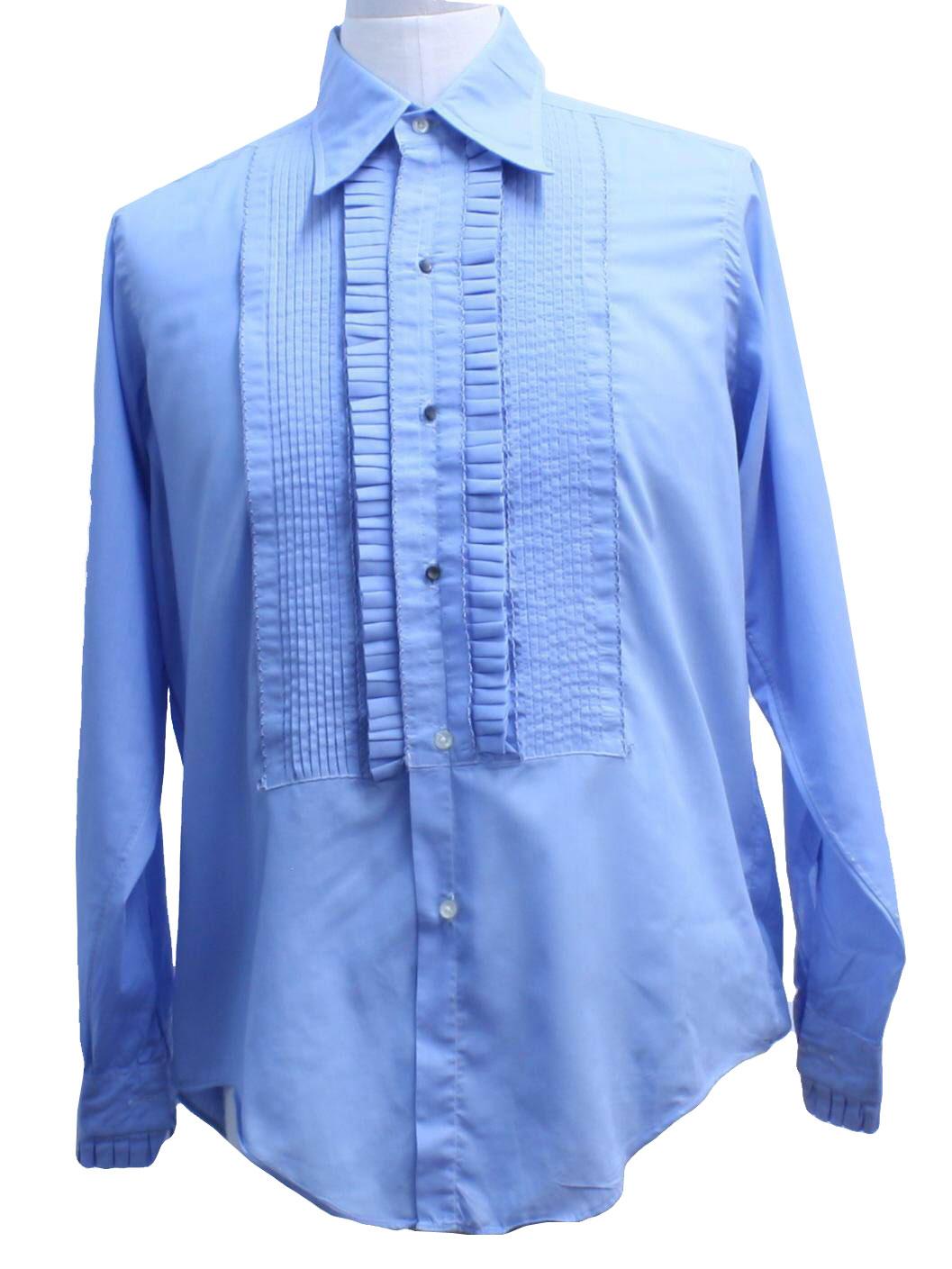 Retro 70 S Shirt 70s Turman And Reynolds Mens Baby Blue