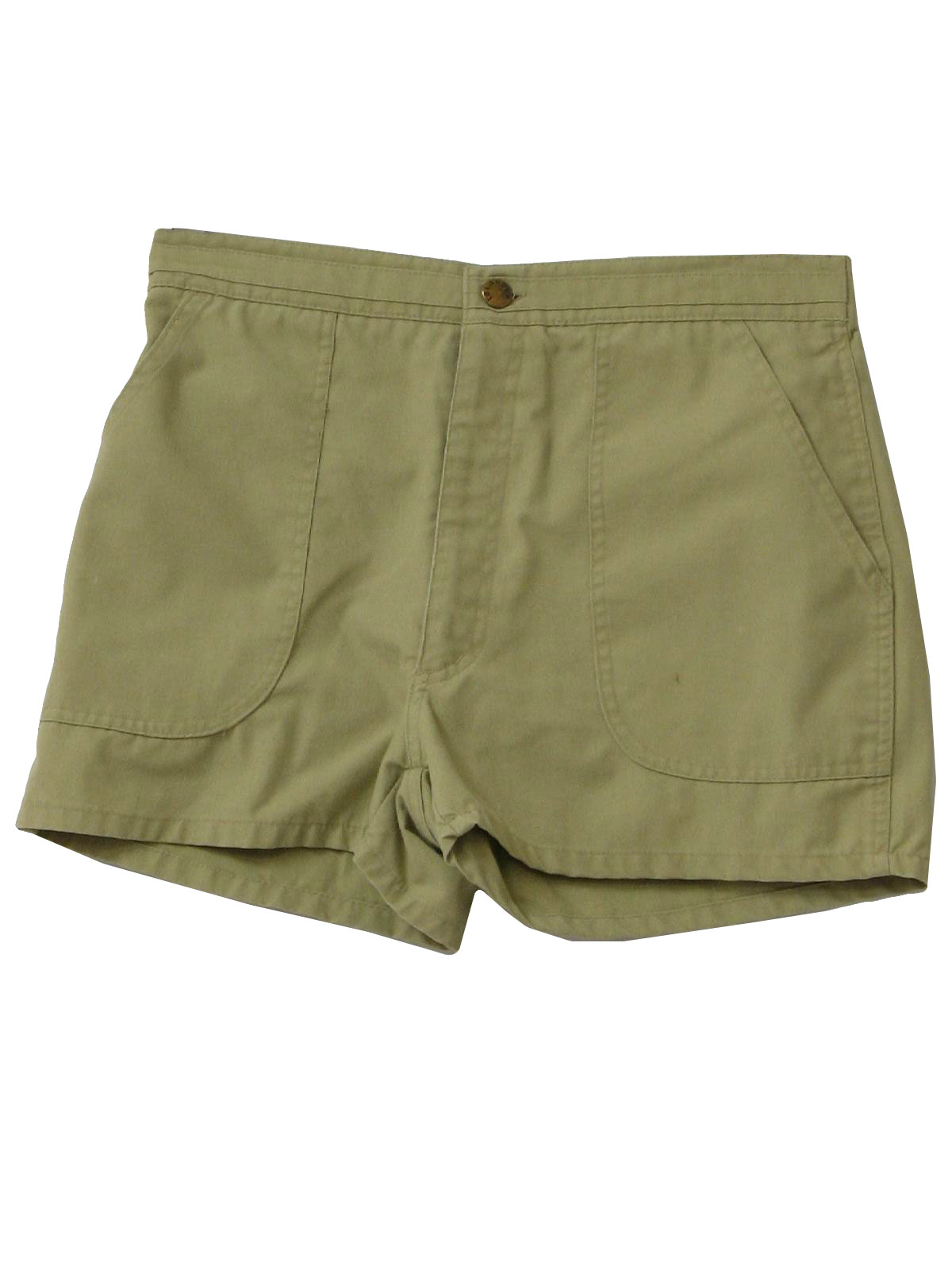 Retro 1980's Shorts (Islander) : 80s -Islander- Mens clay green ...