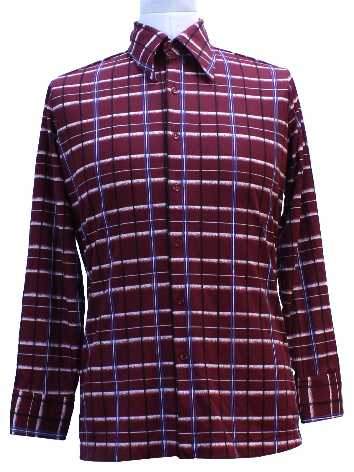 Retro 70s print disco shirt kmart 70s kmart mens for Kmart button up shirts