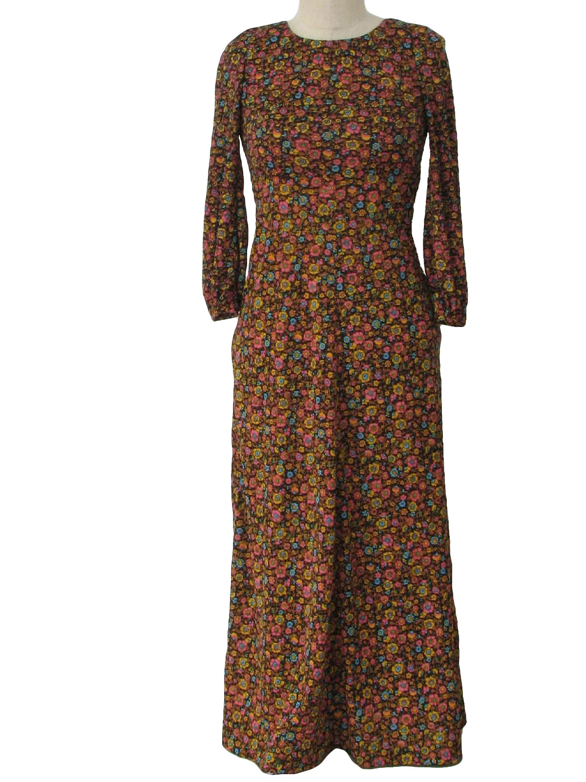 Vintage Missing Label 70 S Hippie Dress Late 70s Or Early