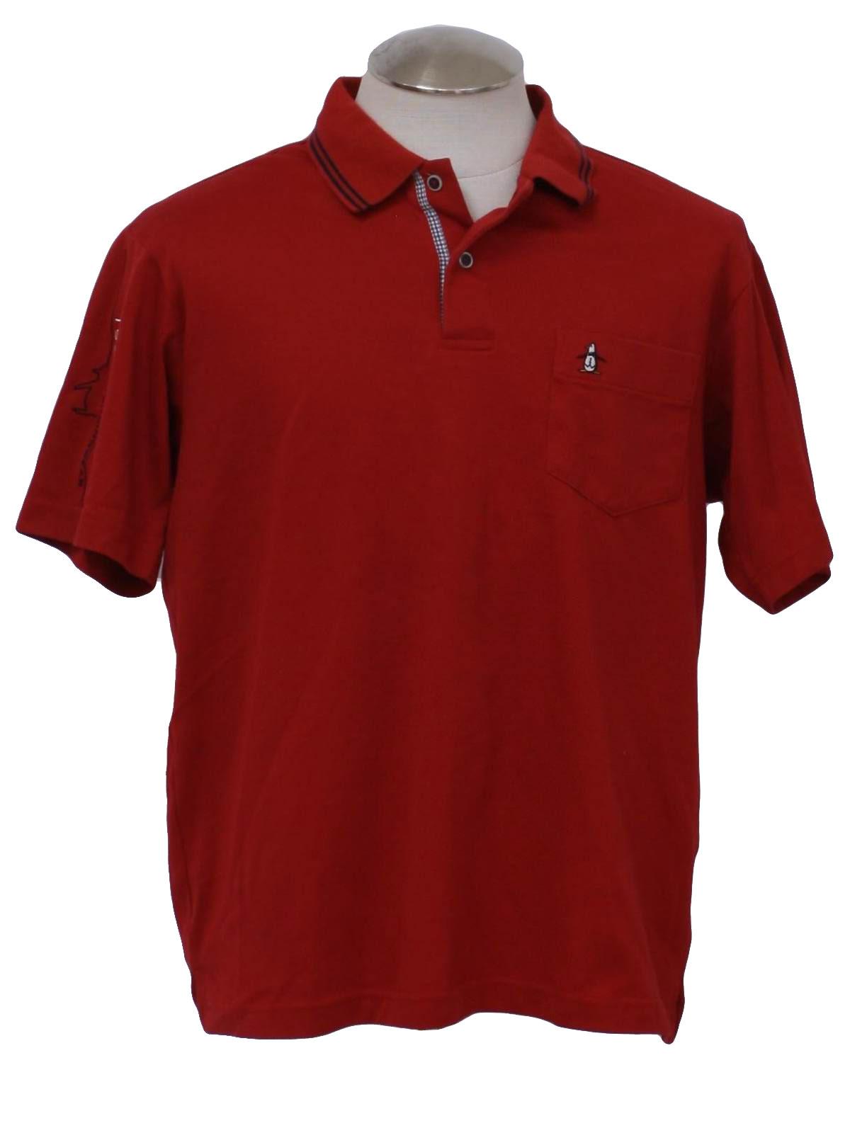 Munsingwear nineties vintage shirt 90s munsingwear mens for Golf shirt with penguin logo