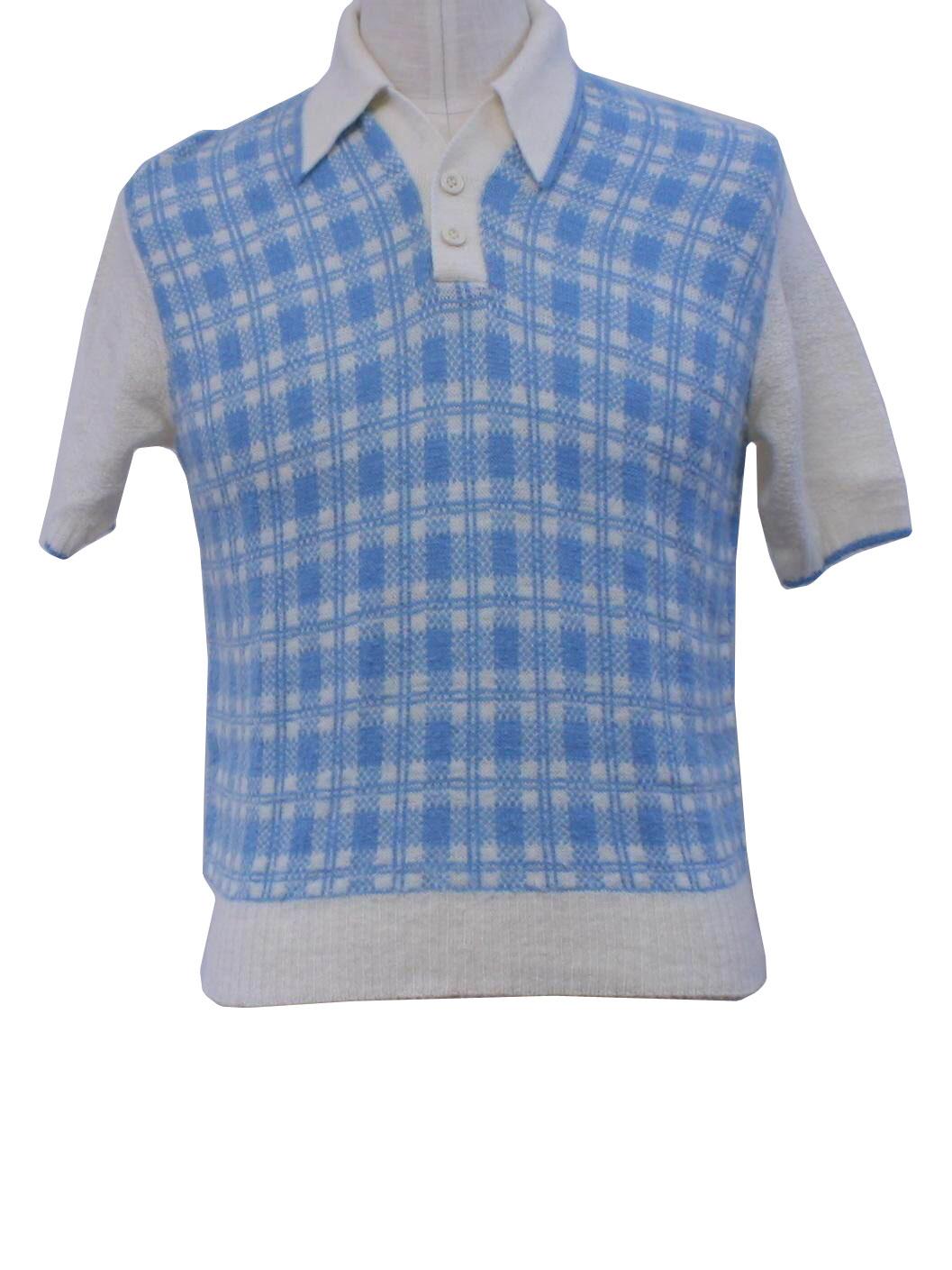 Retro sixties knit shirt 60s jockey thorobred mens for Jockey full sleeve t shirts india