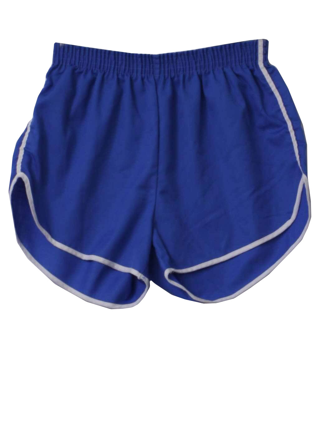 Care Label 80 S Vintage Shorts 80s Care Label Mens Blue