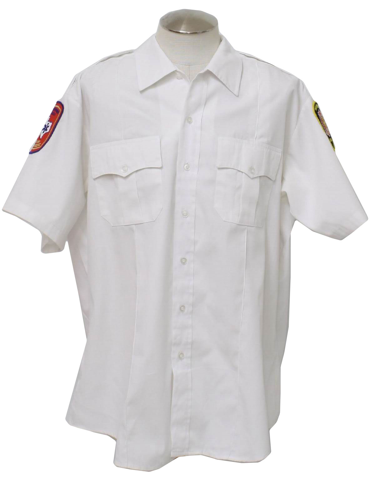1990 39 s retro shirt 90s or newer southeastern mens white for White cotton work shirts