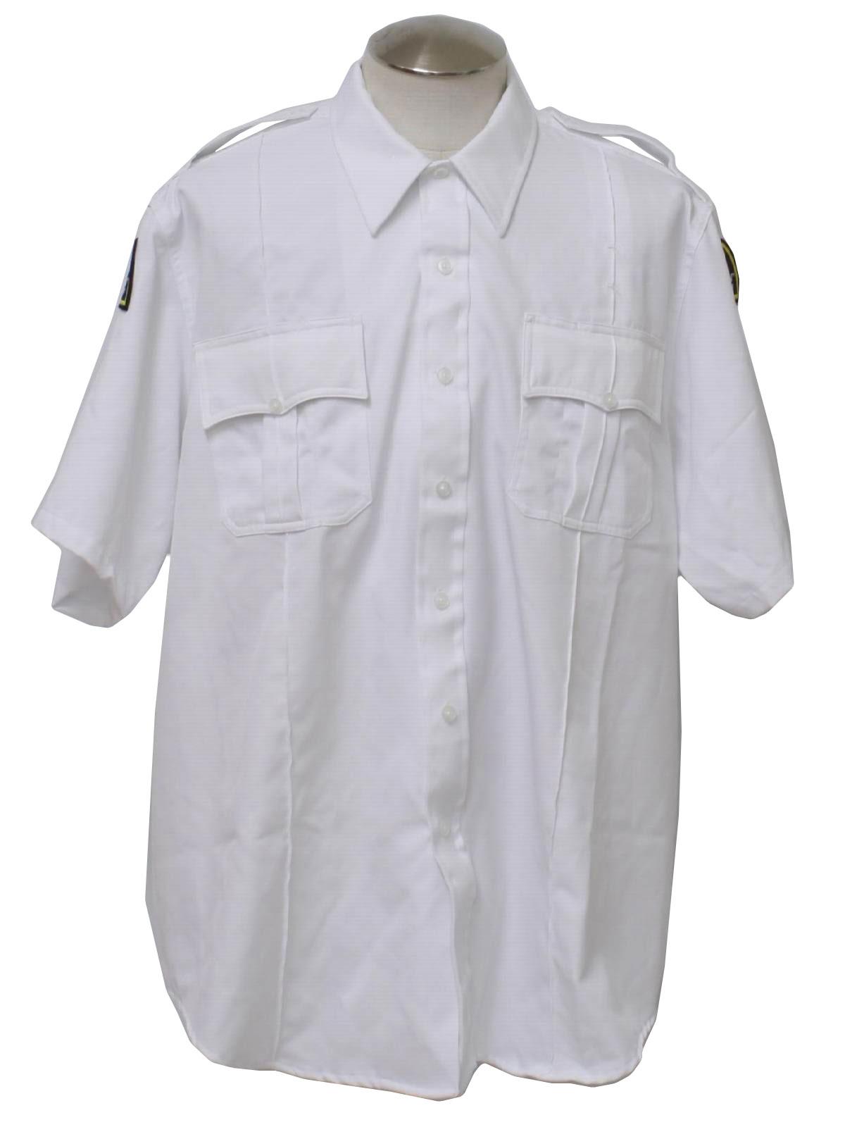 1990's Vintage Martins Shirt: 90s -Martins- Mens white ...