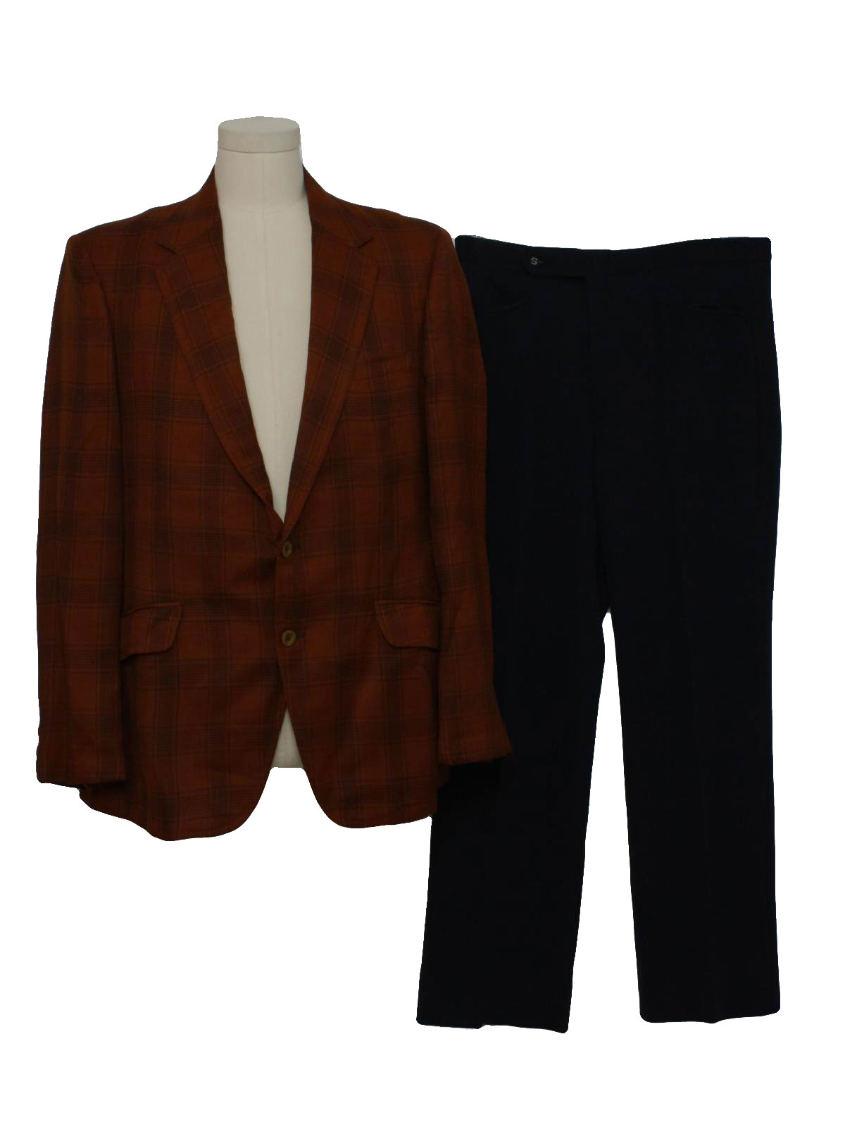 1970's Disco Suit (Curlee Clothes): 70s -Curlee Clothes ...