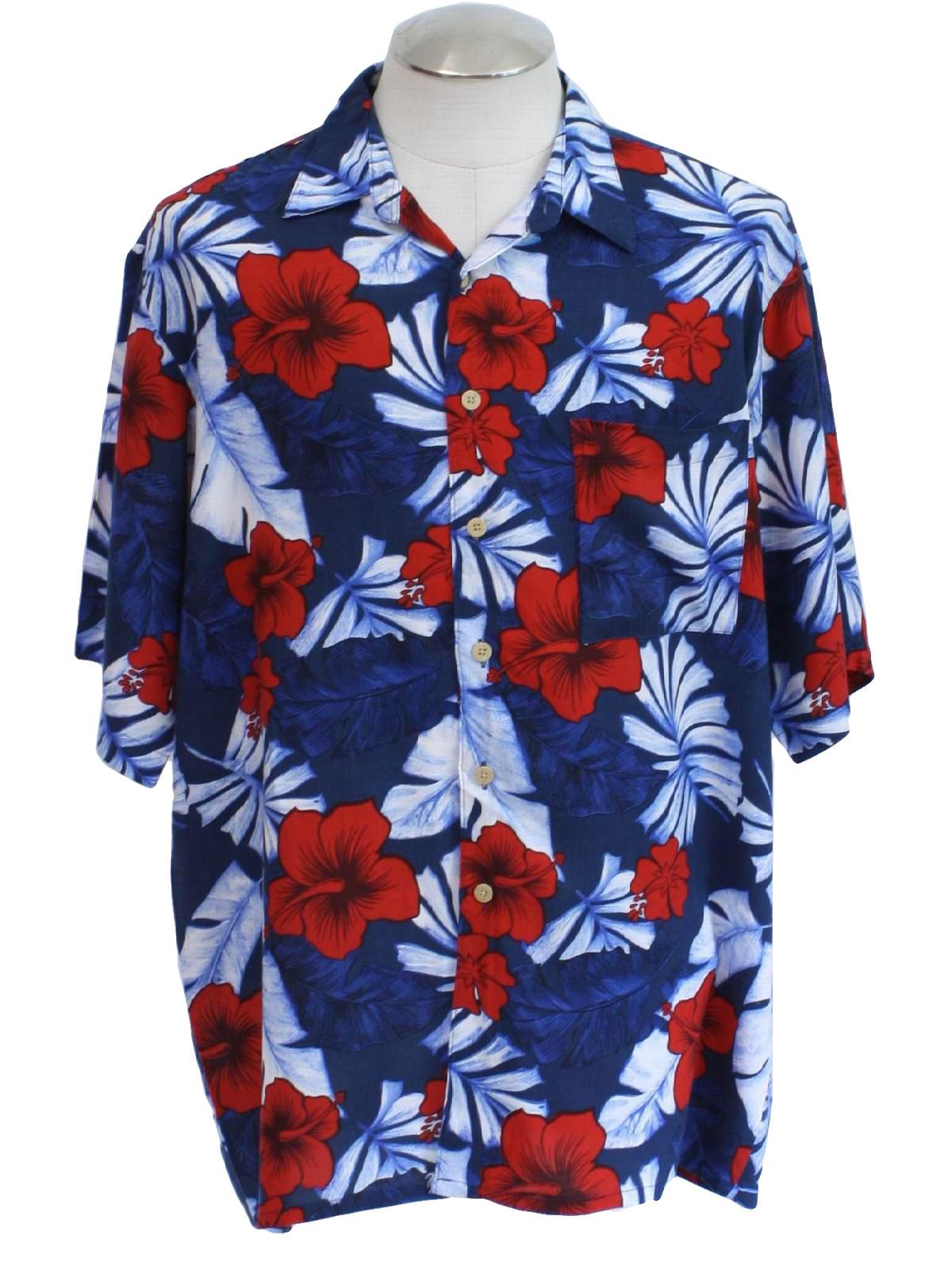 vintage hana bay eighties hawaiian shirt 80s hana bay