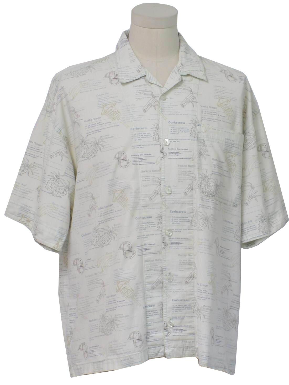 8d61b85b 1980's Coupe de Ville by QuikSilver Mens Hawaiian Shirt $25.00 In stock.  Item No. 256053-A16485