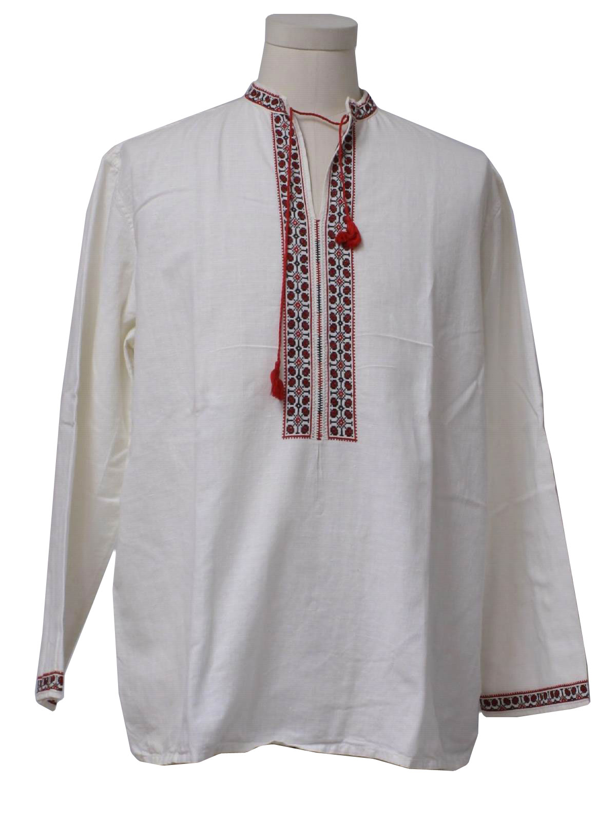 70 s vintage hippie shirt 70s missing label mens white