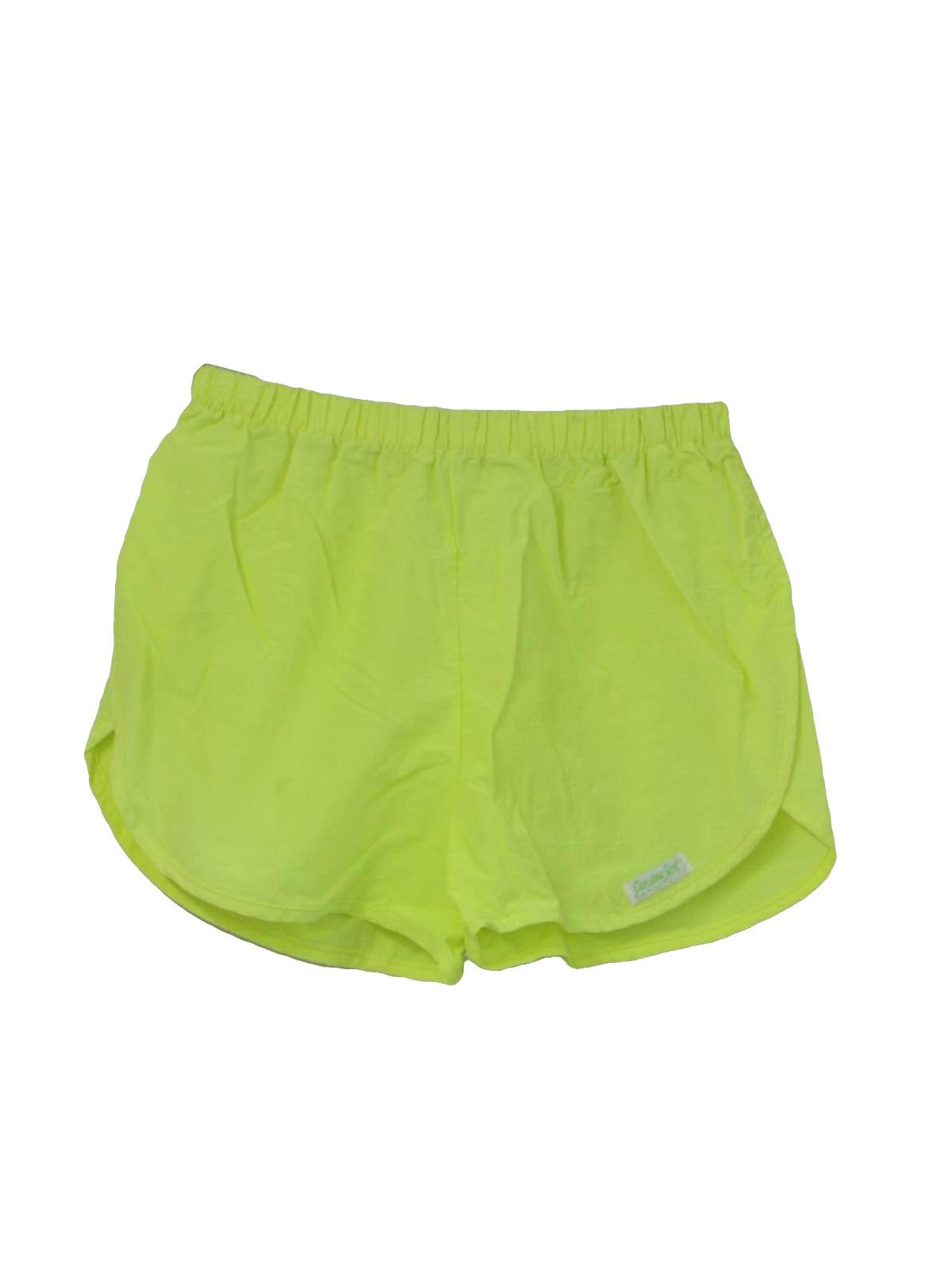Retro 1980's Shorts (Panama Jack) : 80s -Panama Jack- Mens neon ...