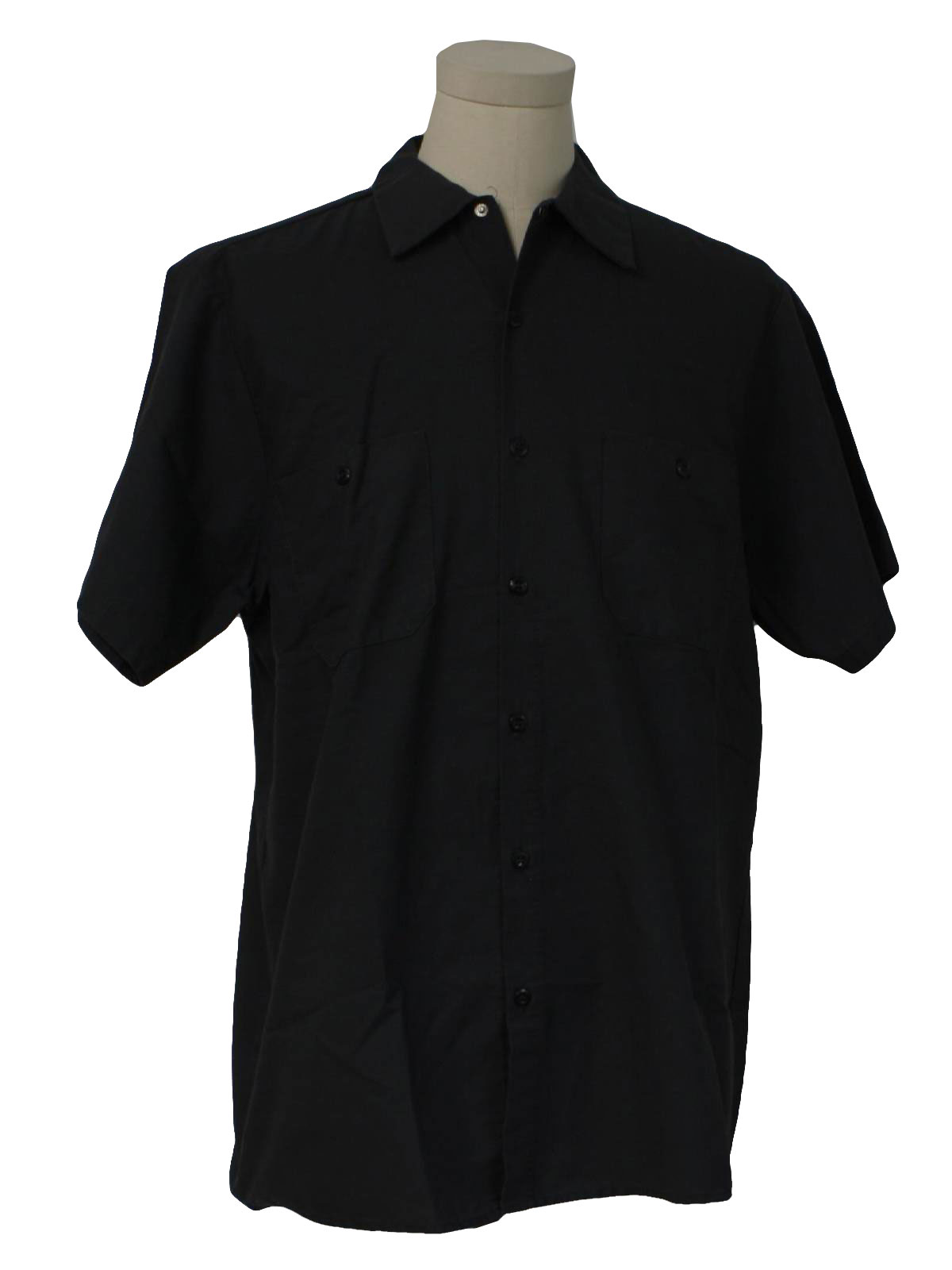 Retro 80 S Shirt 80s Wear Guard Mens Grey Short Sleeve