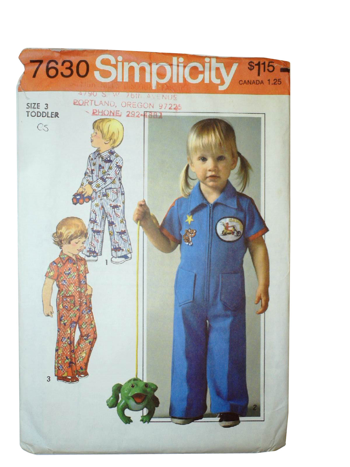 Vintage 70s sewing pattern 70s simplicity 7630 toddler jumpsuit vintage 70s sewing pattern 70s simplicity 7630 toddler jumpsuit pattern with options for sleeve lengths jeuxipadfo Choice Image