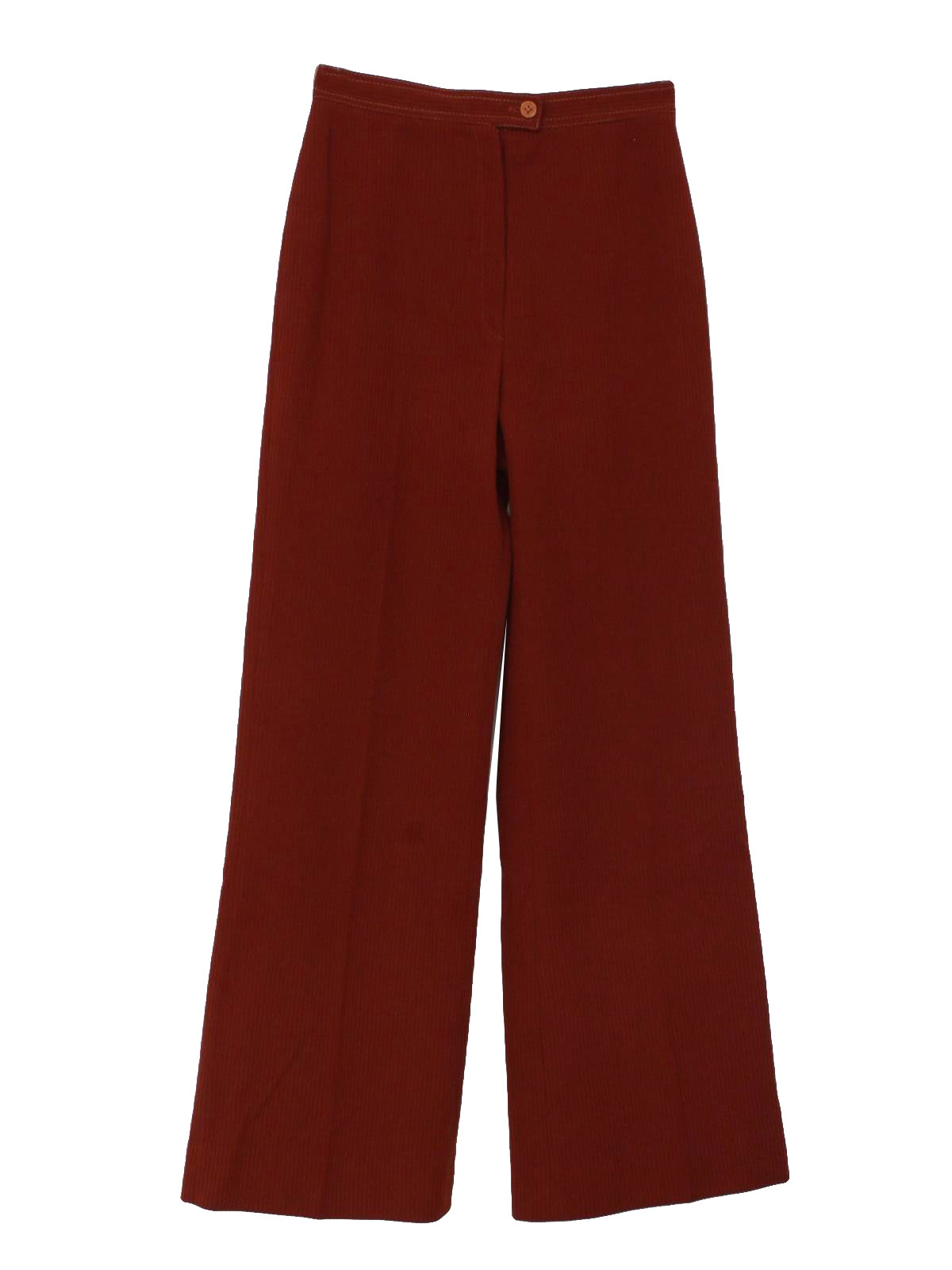 Popular  Pants The Skinny Luxe Corduroy In Burnt Orange In Red Burnt Orange