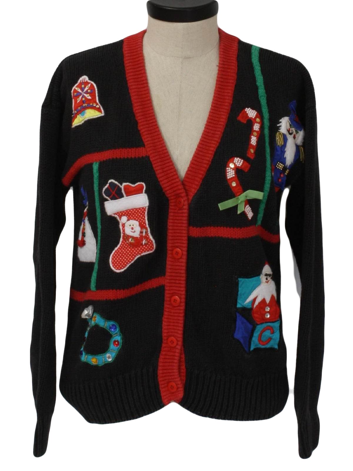 f11ba0bc20 Womens Ugly Christmas Sweater  -Work in Progress- Womens black ...