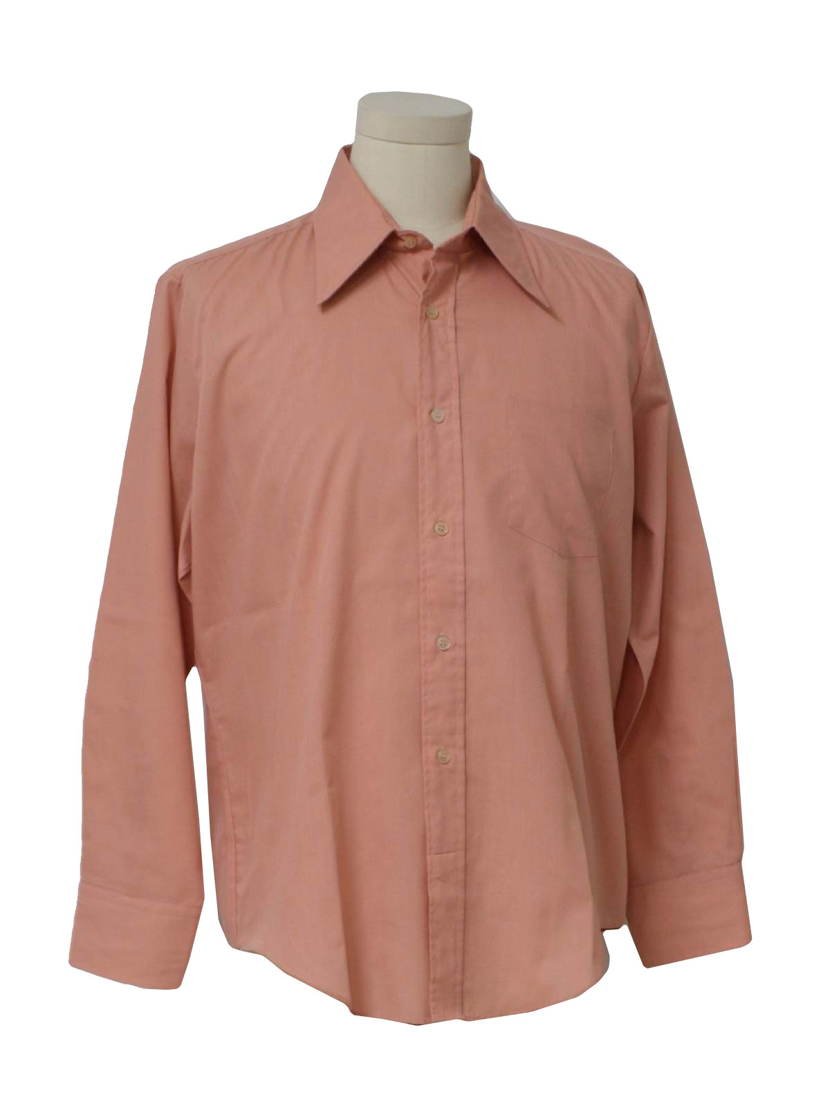 1970s Vintage Fruit Of The Loom Shirt 70s Fruit Of The Loom Mens
