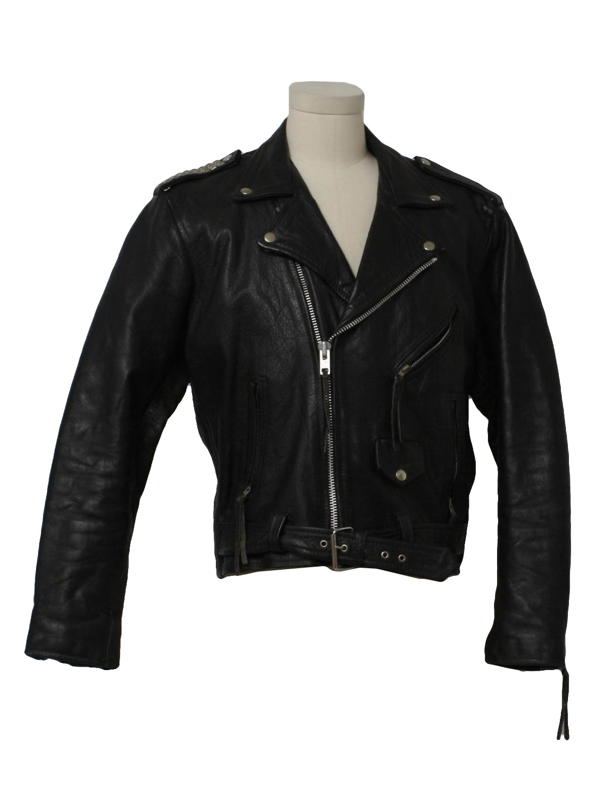 80 S Leather Jacket 80s Echtes Leder German For Genuine