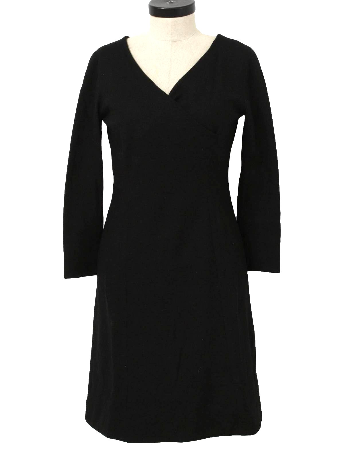 a2f26805445 1960 s Retro Cocktail Dress  Early 60s -Jack Marsee- Womens black ...