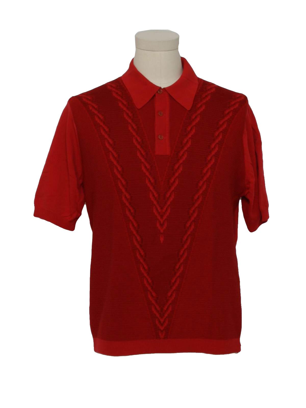 Vintage Leonardo Strassi 70's Knit Shirt: 70s -Leonardo ...