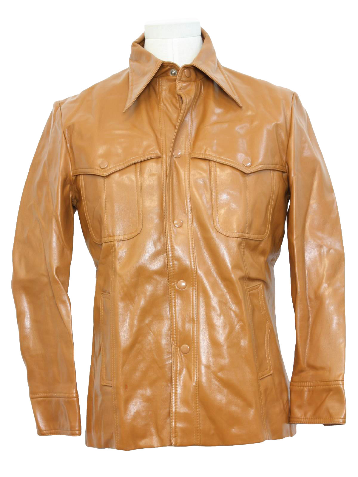 1970 S Jacket Ventura 70s Ventura Mens Brown