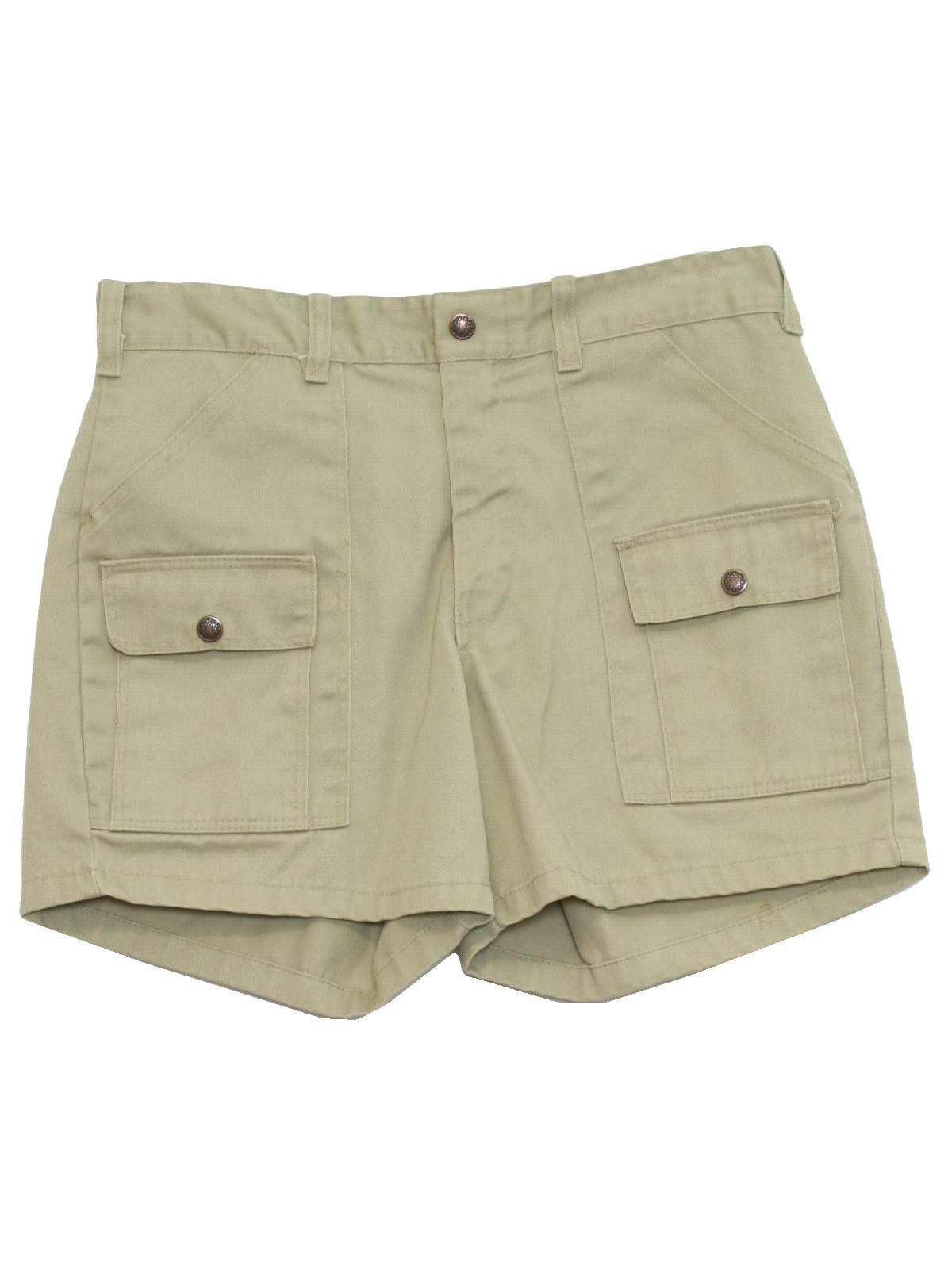 Mens Safari Shorts
