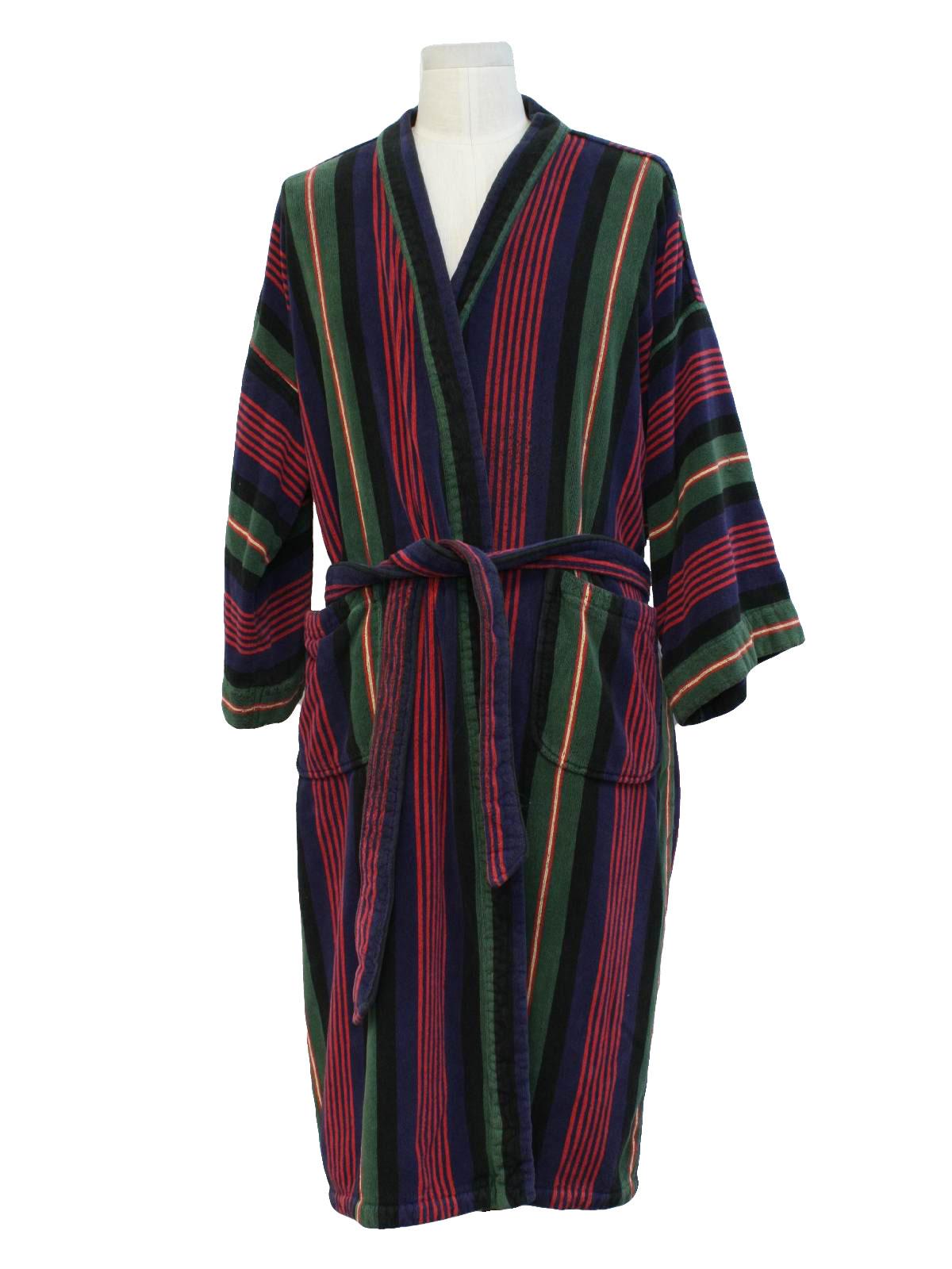 1980's Mens Robe (Norm Thompson): 80s -Norm Thompson- Mens ... | 1200 x 1600 jpeg 170kB