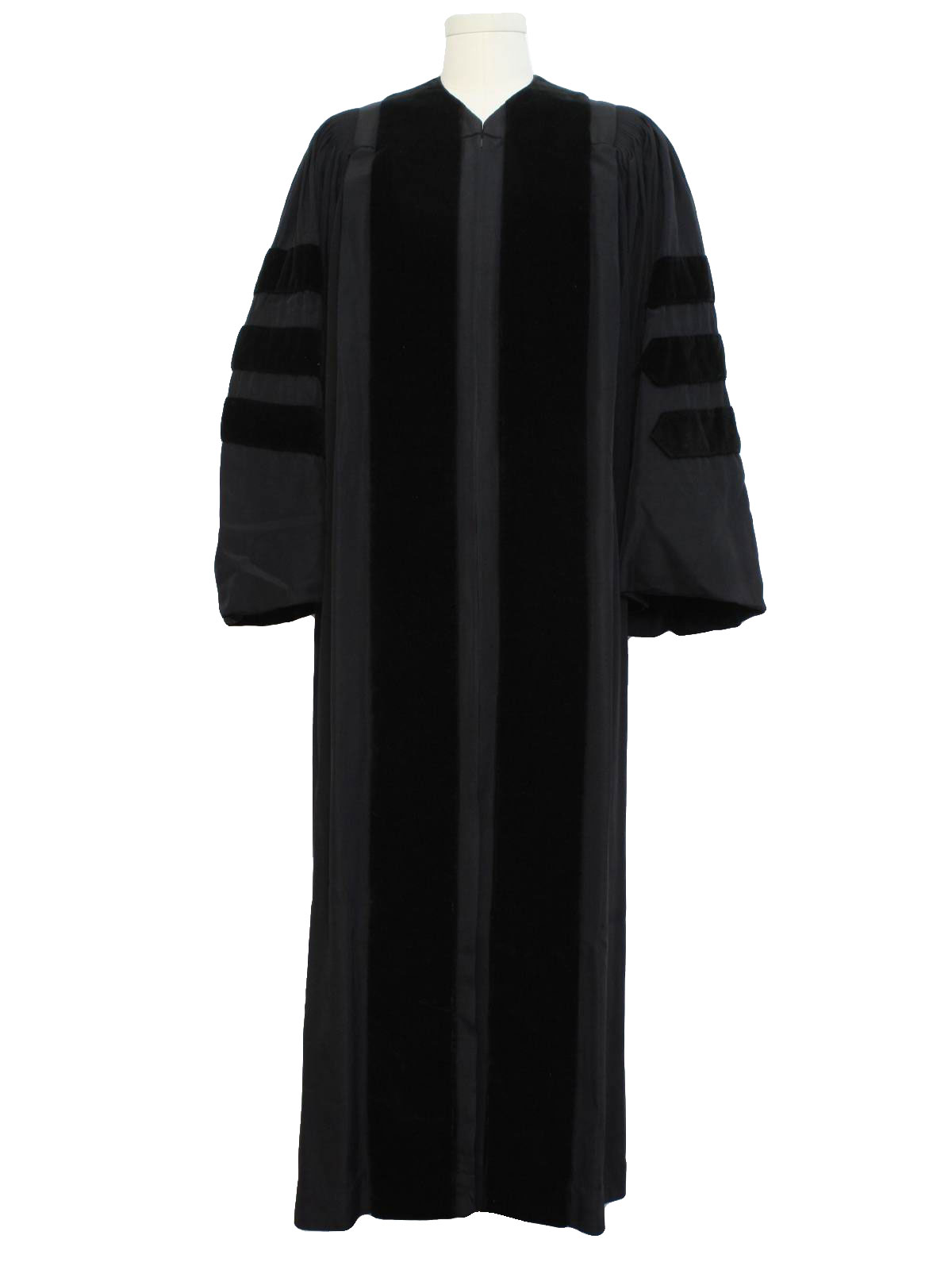 1940s Unisex Graduation Robe: 40s -Collegiate Cap and Gown Co ...