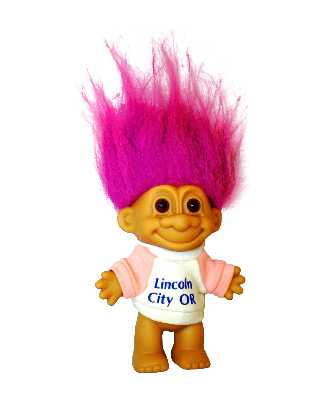 1990's Russ China Home Decor - Troll Doll