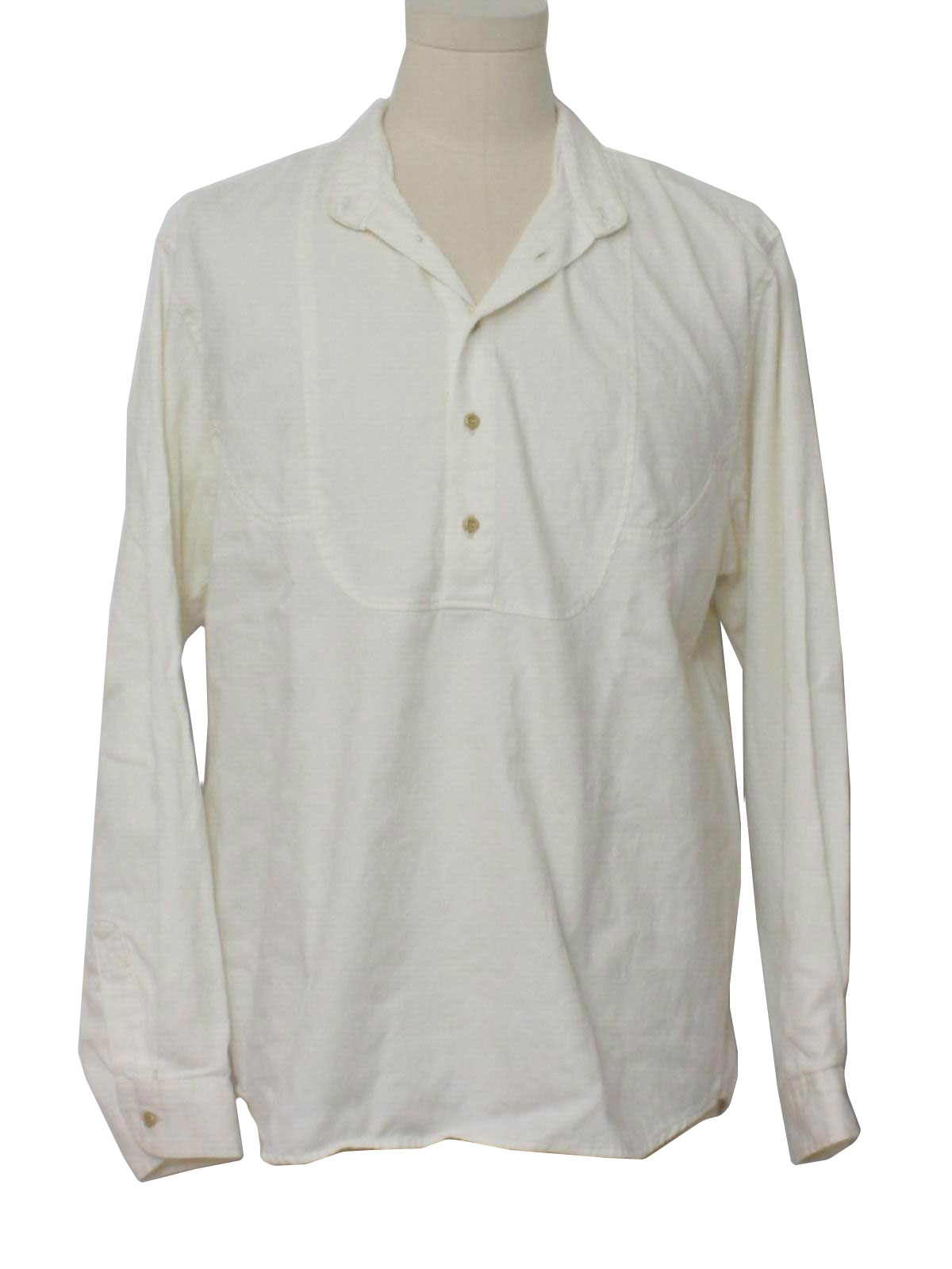 Western Shirt 90s Wah Frontier Mens 19th Century