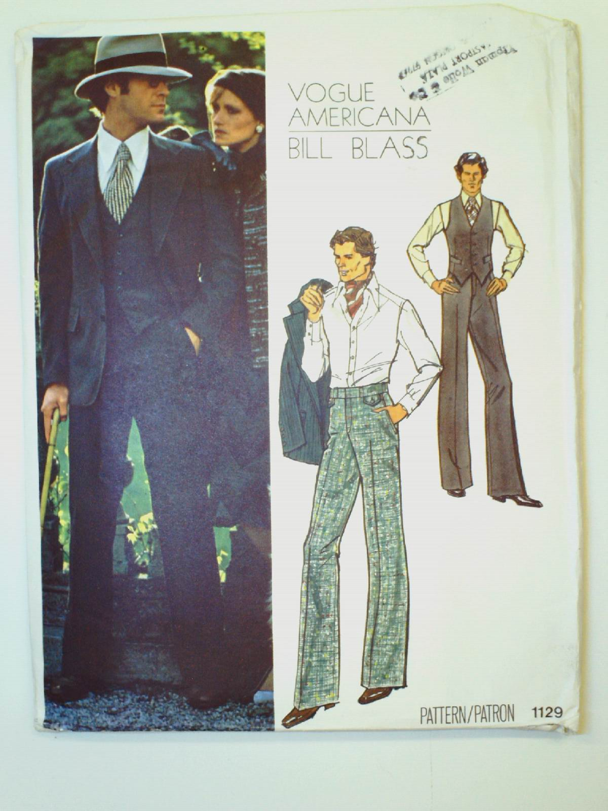 Retro 1980s Sewing Pattern 80s Vogue Pattern No 1129