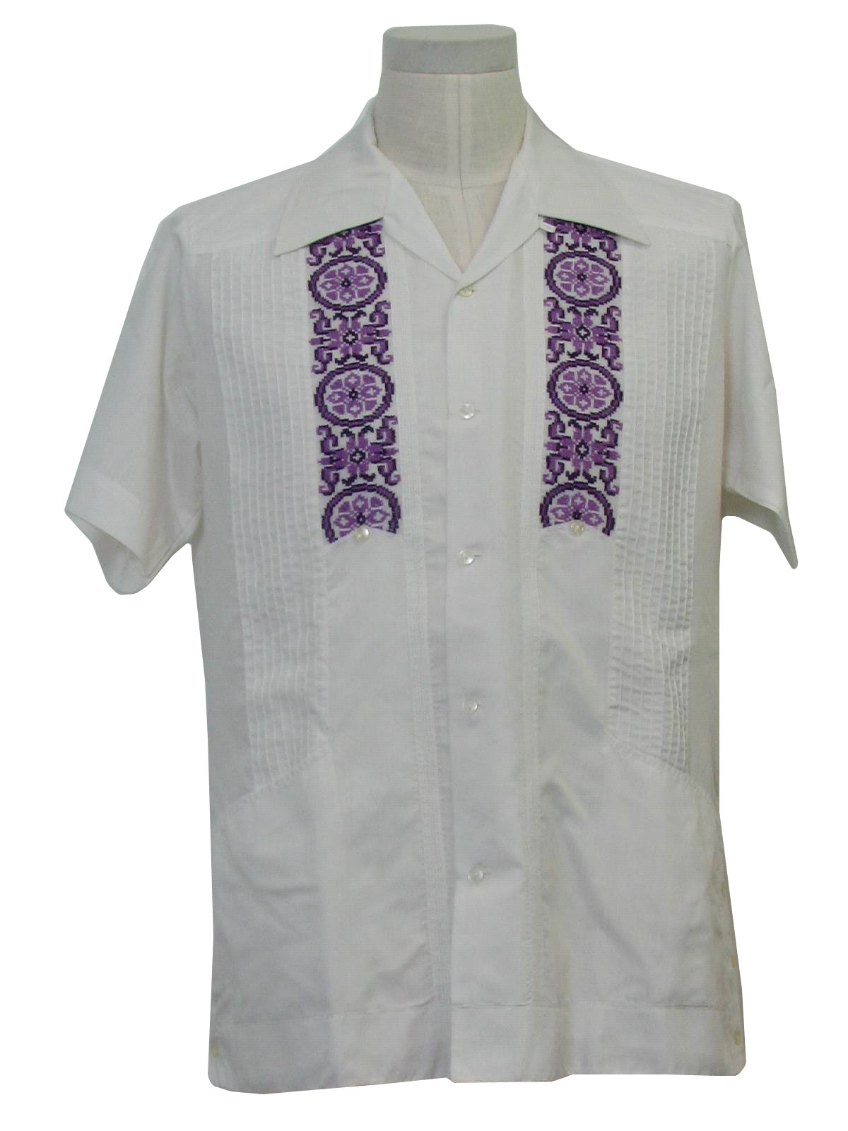 Mens Guayabera Wedding Shirt