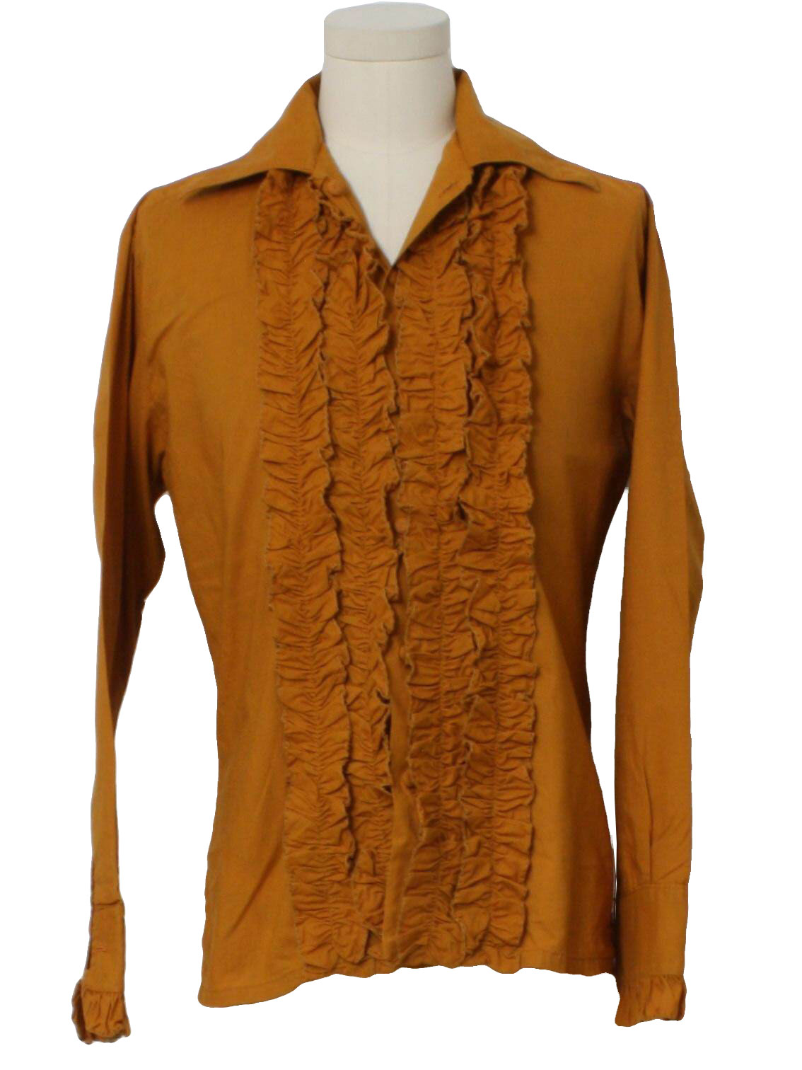 Flair of california 60 39 s vintage shirt 60s flair of for Mens shirts with cufflink holes