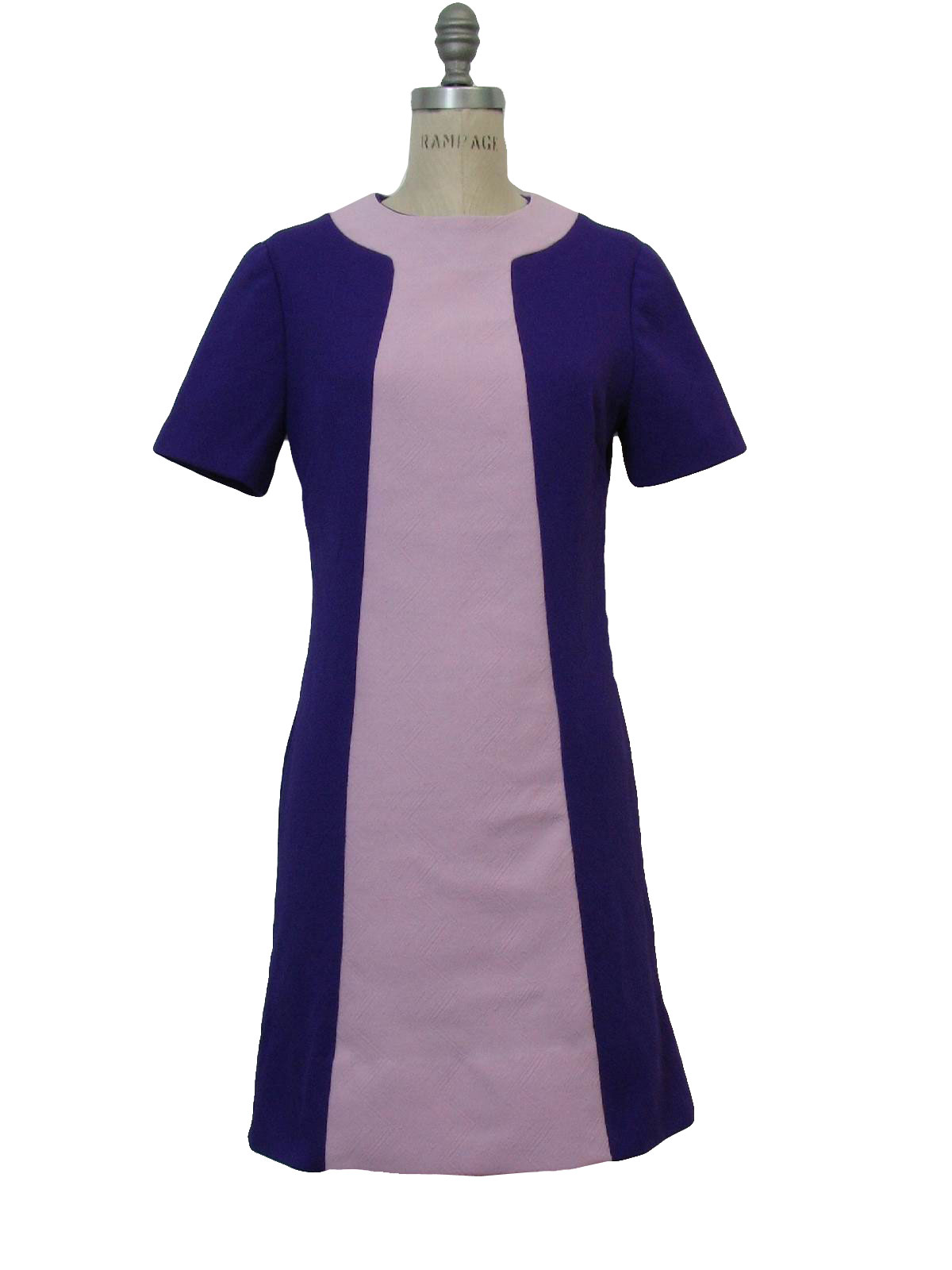 1960 S Vintage Missing Label Dress Late 60s Missing