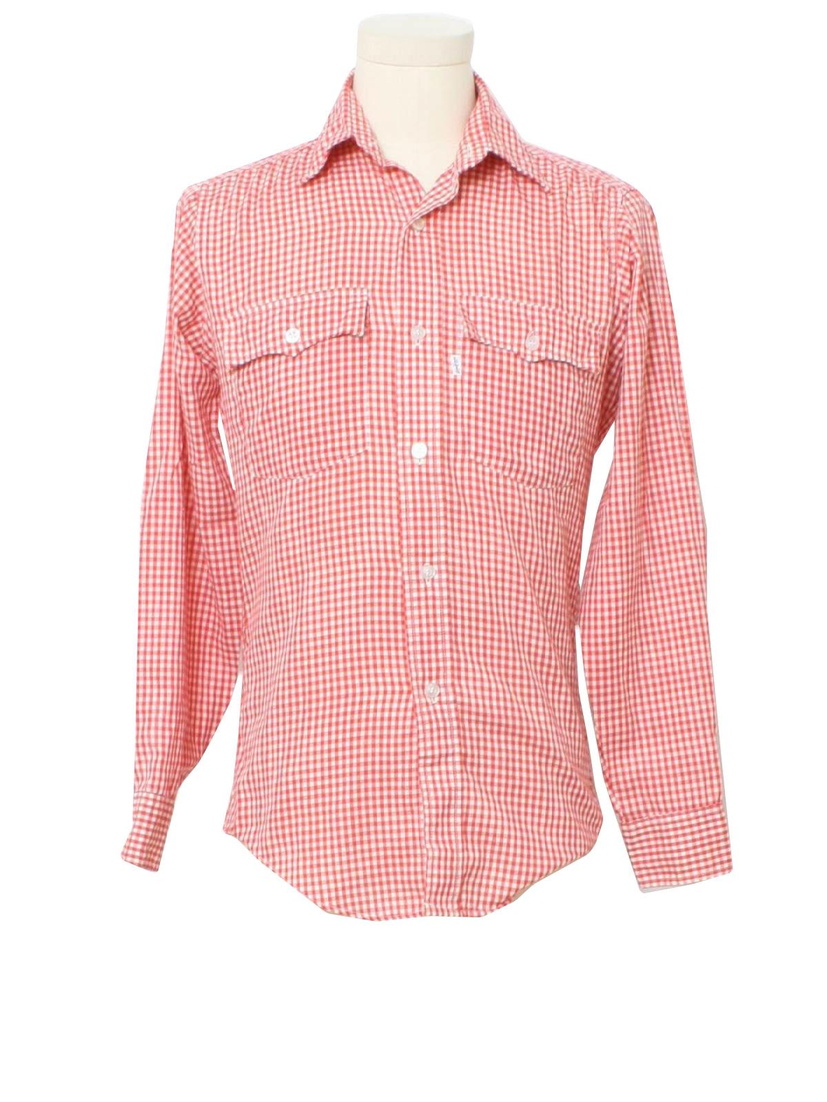 Gingham Womens Shirt