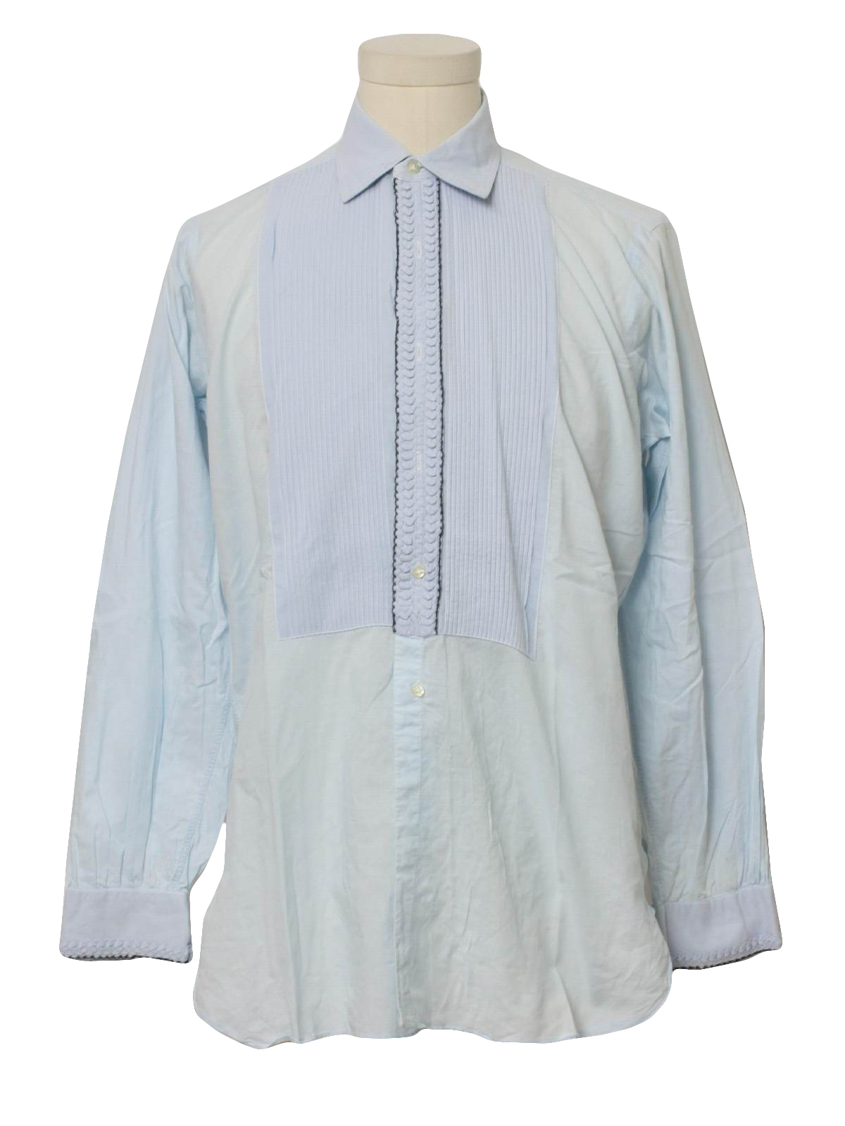 Retro 1960 39 s shirt after six 60s after six mens baby for Tuxedo shirt no studs