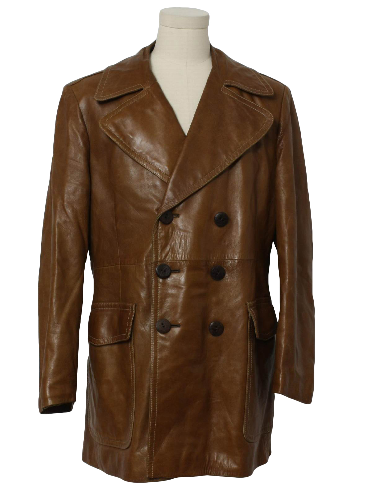Nice Cream Colored Women s Short Trench Coat Parka Style Size M (12
