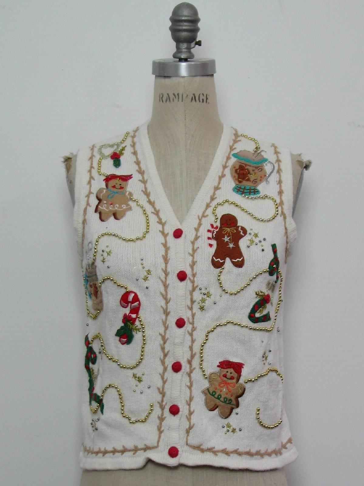 1980's Designers Originals Studio Joy Womens or Girls Ugly Christmas
