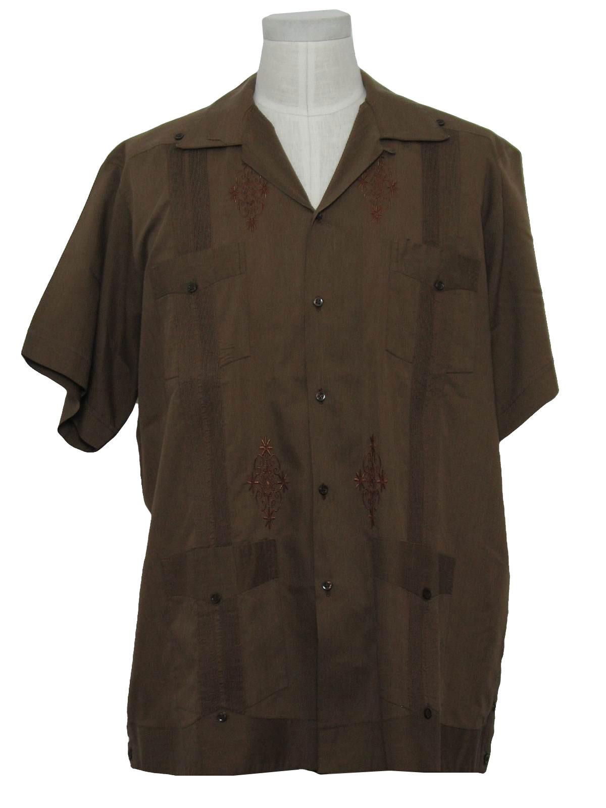 b0d3c6f91c Vintage Guayaberas Yucatecas 80 s Guayabera Shirt  80s -Guayaberas ...