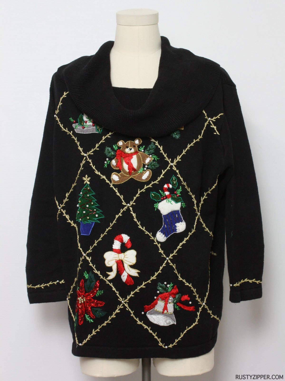 Ugly Christmas Sweater Victoria Jones Woman Unisex