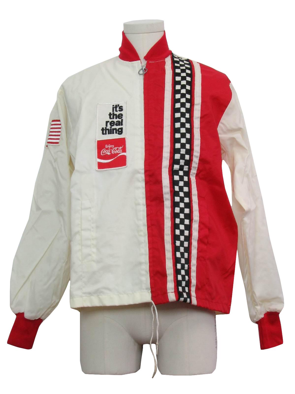 1970 COCA COLA COMPANY Vintage Jacket ergtSKI4E0