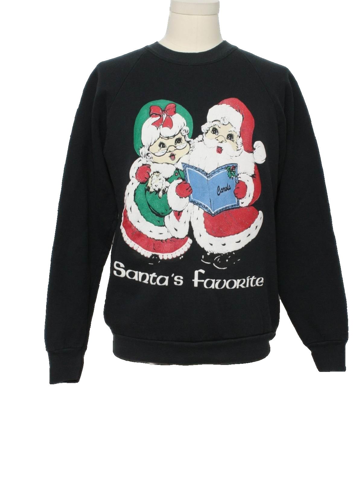 80s ugly christmas sweatshirt fruit of the loom 80s. Black Bedroom Furniture Sets. Home Design Ideas