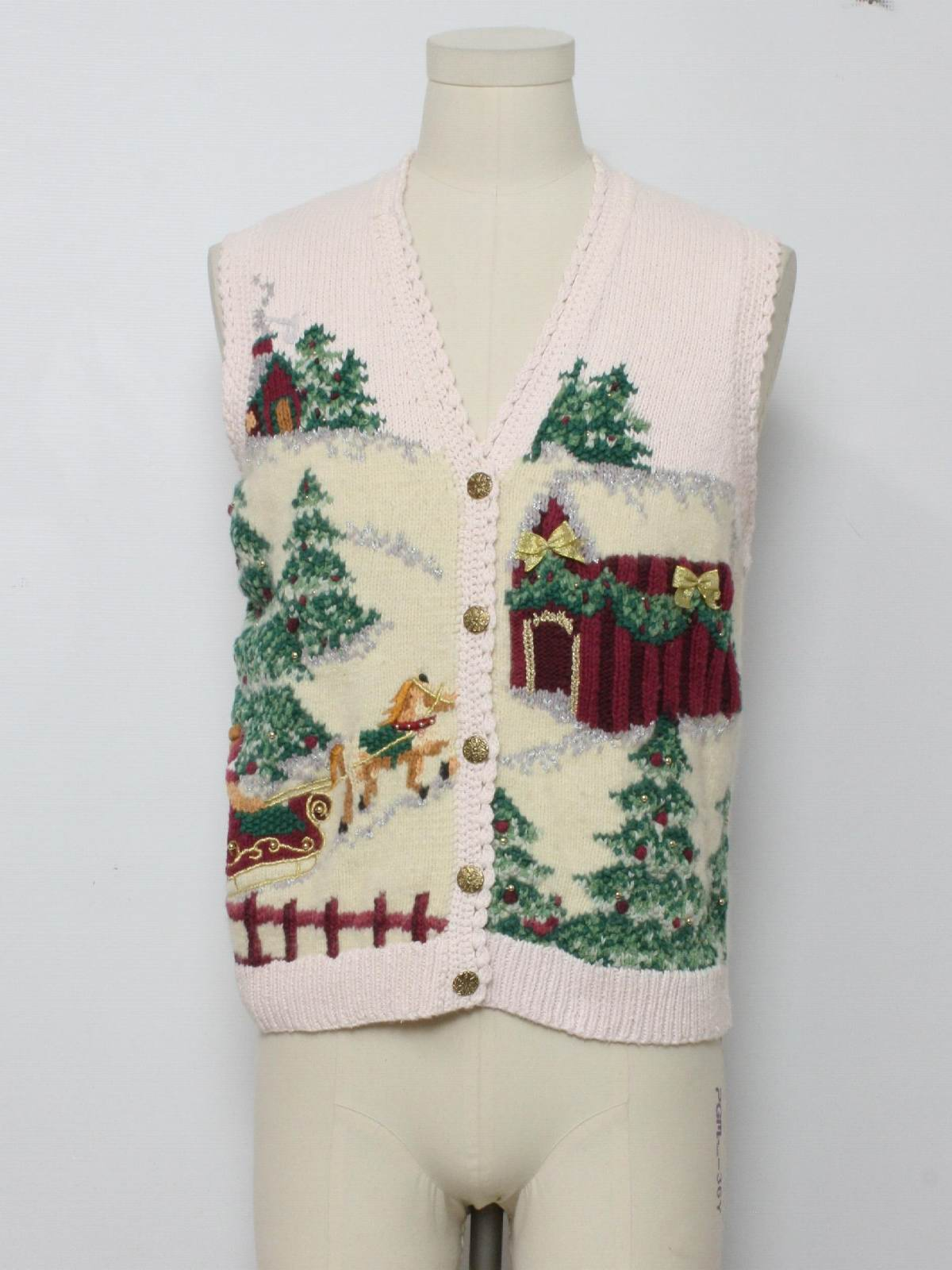 The chariot christmas sweater